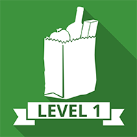 Image depicting the title of the food safety level 1 course.