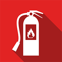 Image depicting the title of the fire extinguisher course.
